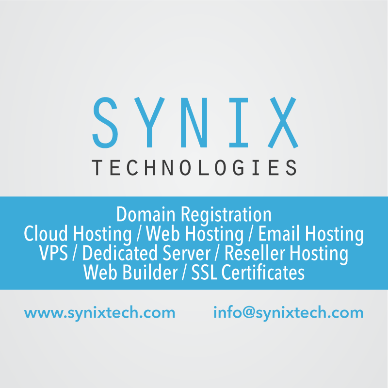 Synix Technologies - Buy Cheap Domain & Hosting